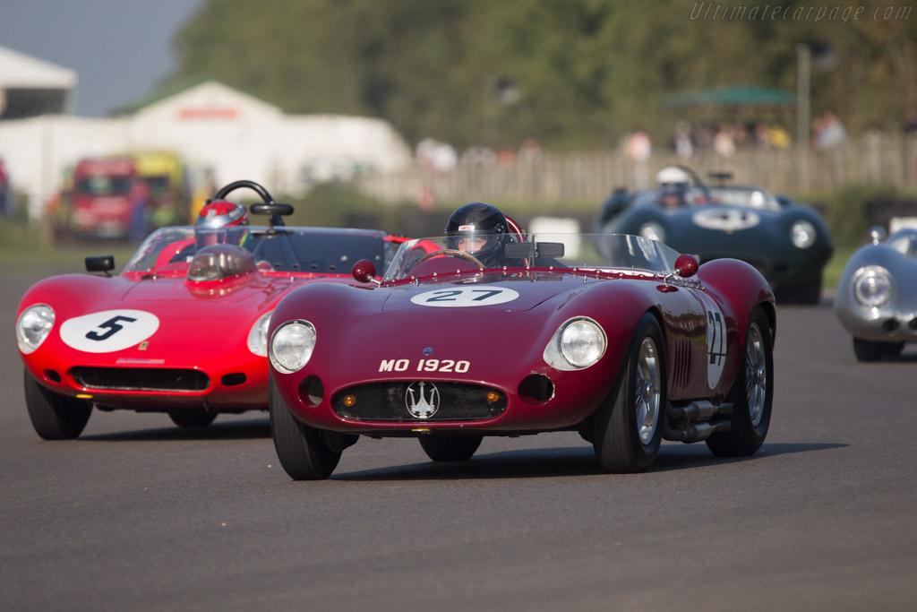 Maserati 300S - Chassis: 3082 - Driver: Martin Halusa / Lukas Halusa  - 2014 Goodwood Revival