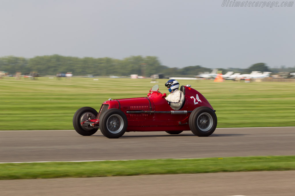 Maserati 4CM 1500 - Chassis: 1527 - Driver: Simon Edwards  - 2014 Goodwood Revival