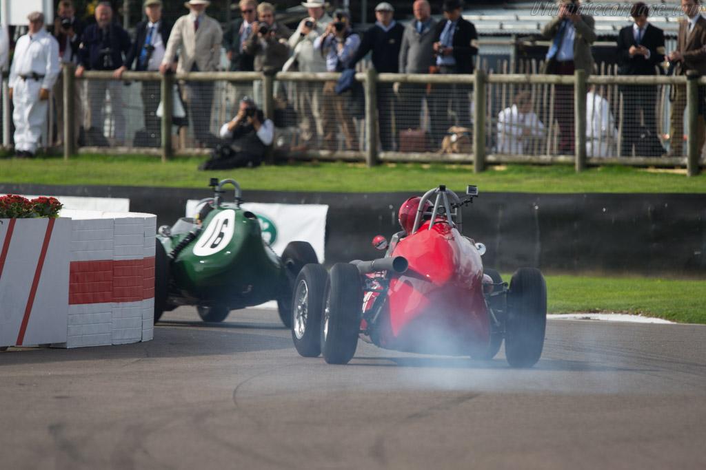 Maserati TecMec - Chassis: F415 - Driver: Tony Wood  - 2014 Goodwood Revival