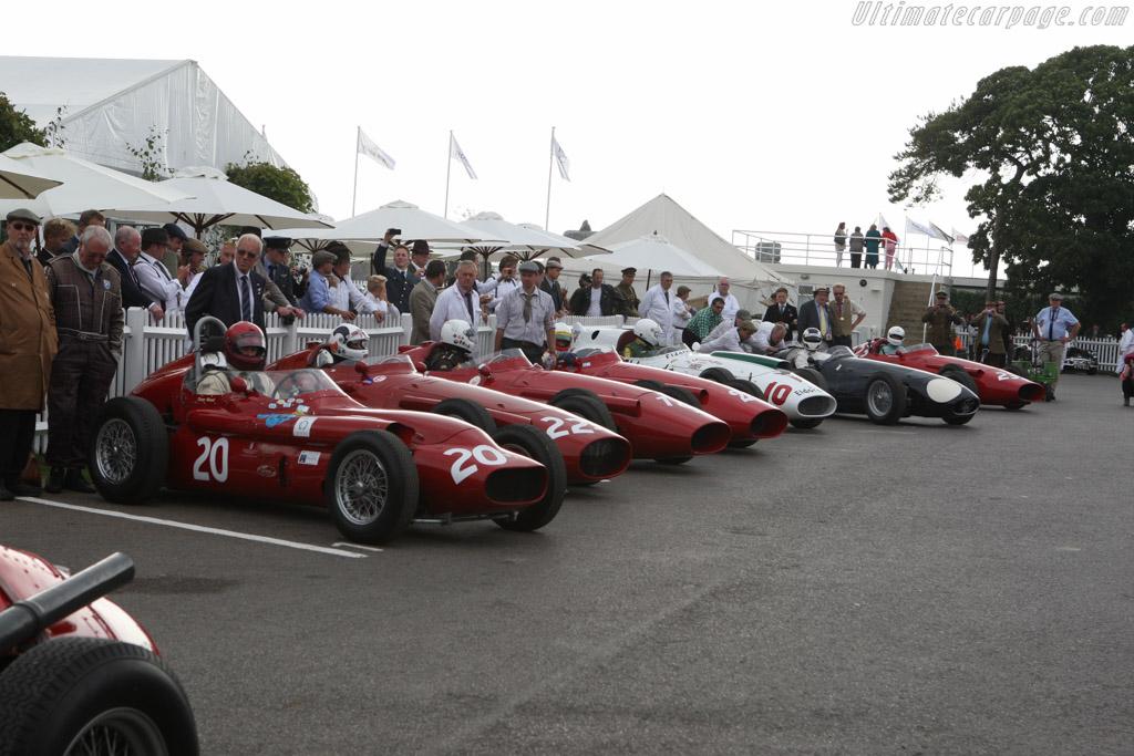 Maserati TecMec - Chassis: F415 - Entrant: Tony Wood  - 2014 Goodwood Revival