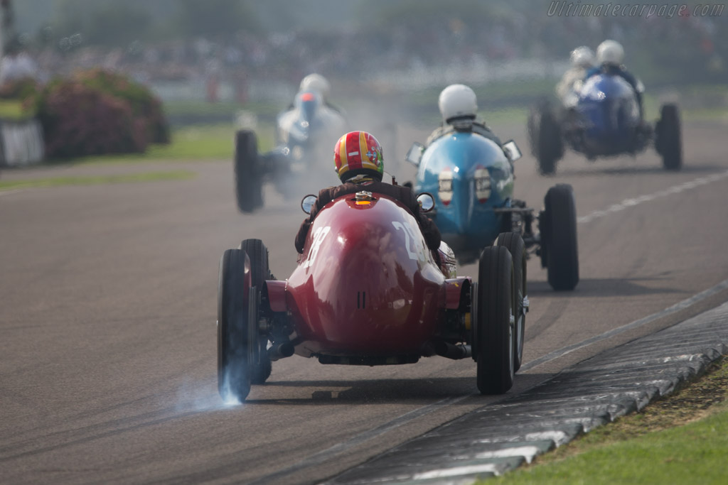 Maserati V8RI - Chassis: 4502 - Entrant: Michael Gans - Driver: Andrew Wolfe  - 2014 Goodwood Revival