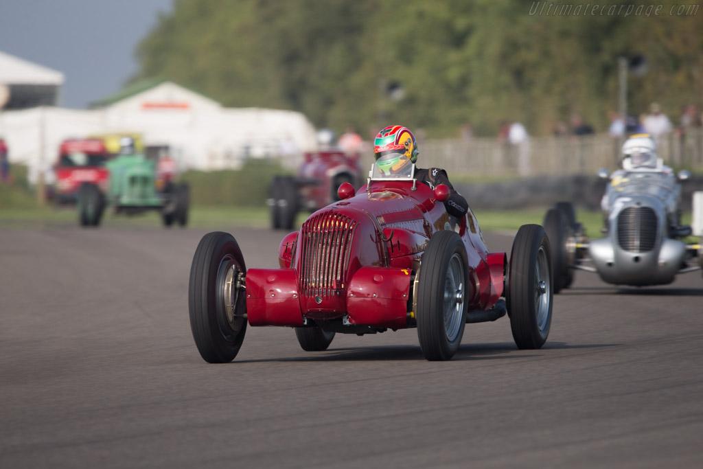 Maserati V8RI - Chassis: 4502 - Entrant: Michael Gans - Driver: Andrew Wolfe  - 2014 Goodwood Revival