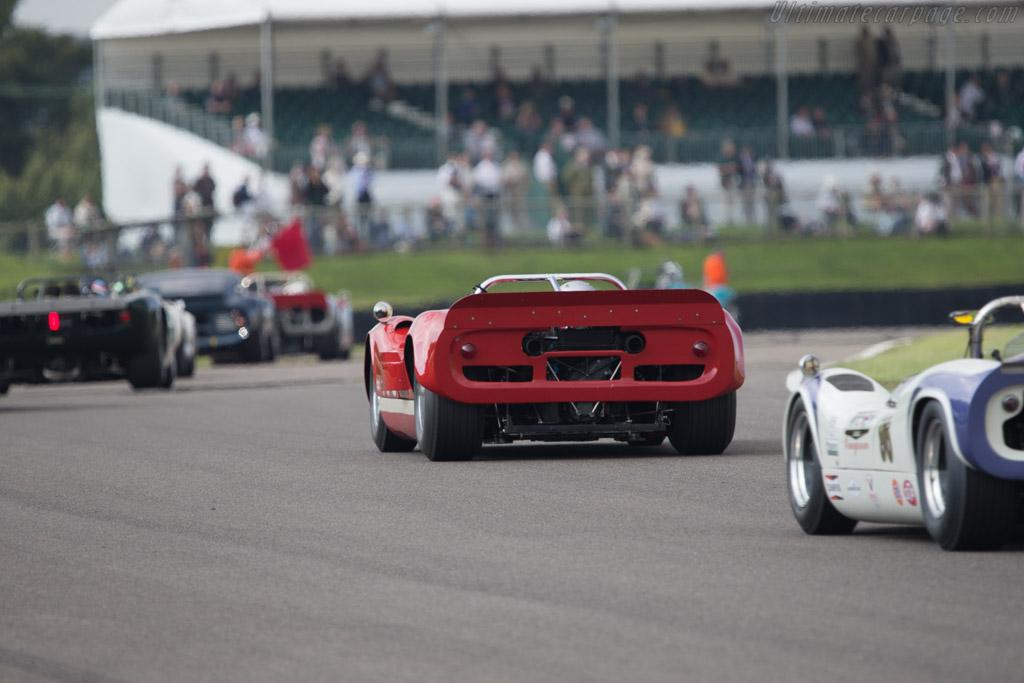 McLaren M1B Chevrolet - Chassis: 1-66 - Driver: Chris Goodwin  - 2014 Goodwood Revival