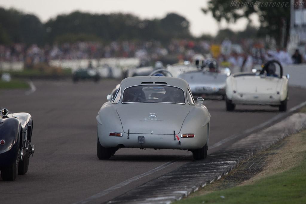 Mercedes-Benz 300 SL - Chassis: 198.040.5500433 - Entrant: Hans Kleissl - Driver: Jochen Mass  - 2014 Goodwood Revival