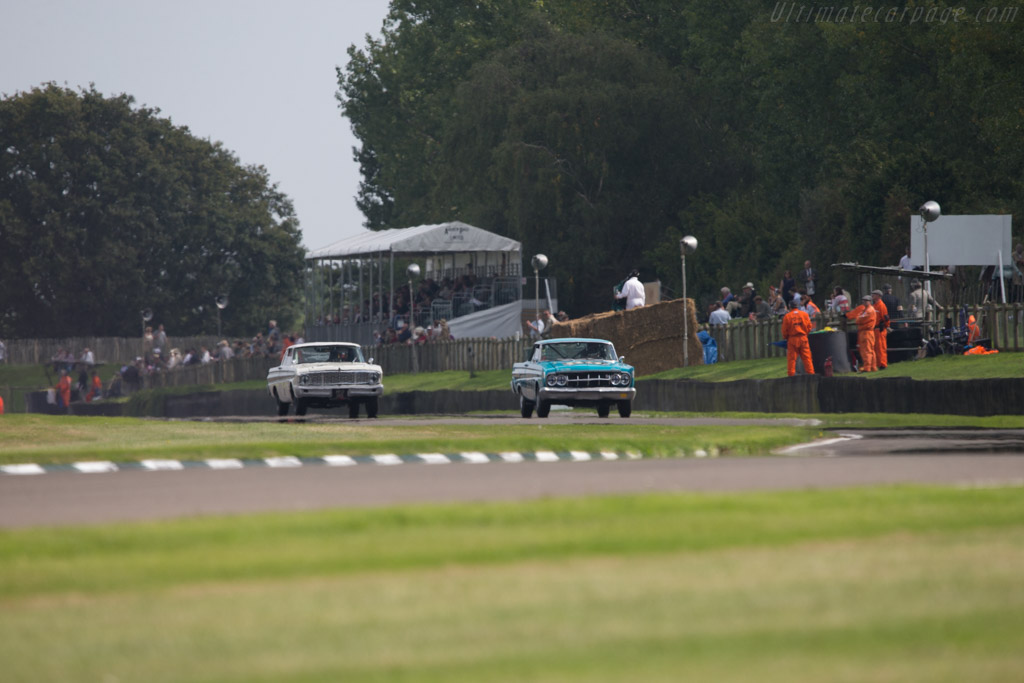 Mercury Comet Cyclone - Chassis: 4T27K546286 - Entrant: Roger Wills - Driver: Emanuele Pirro  - 2014 Goodwood Revival