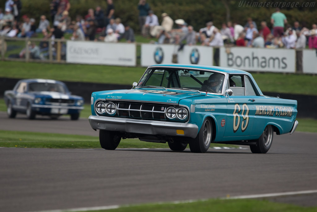 Mercury Comet Cyclone - Chassis: 4T27K546286 - Driver: Roger Wills  - 2014 Goodwood Revival