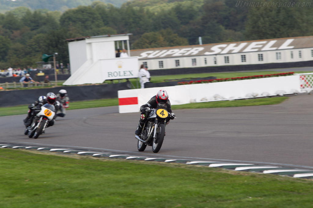 Norton Manx  - Entrant: R.R. Charlie Banyard Smith - Driver: Glen Richards / Scott Smart  - 2014 Goodwood Revival