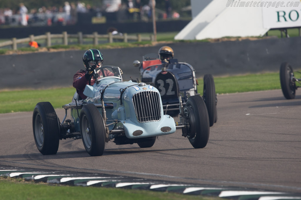 Parnell MG - Chassis: K3009 - Entrant: Richard Last - Driver: Rob Huff  - 2014 Goodwood Revival