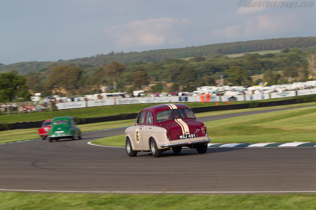 Riley One-Point-Five - Chassis: R24704 - Entrant: Bonhams - Driver: David Swig  - 2014 Goodwood Revival