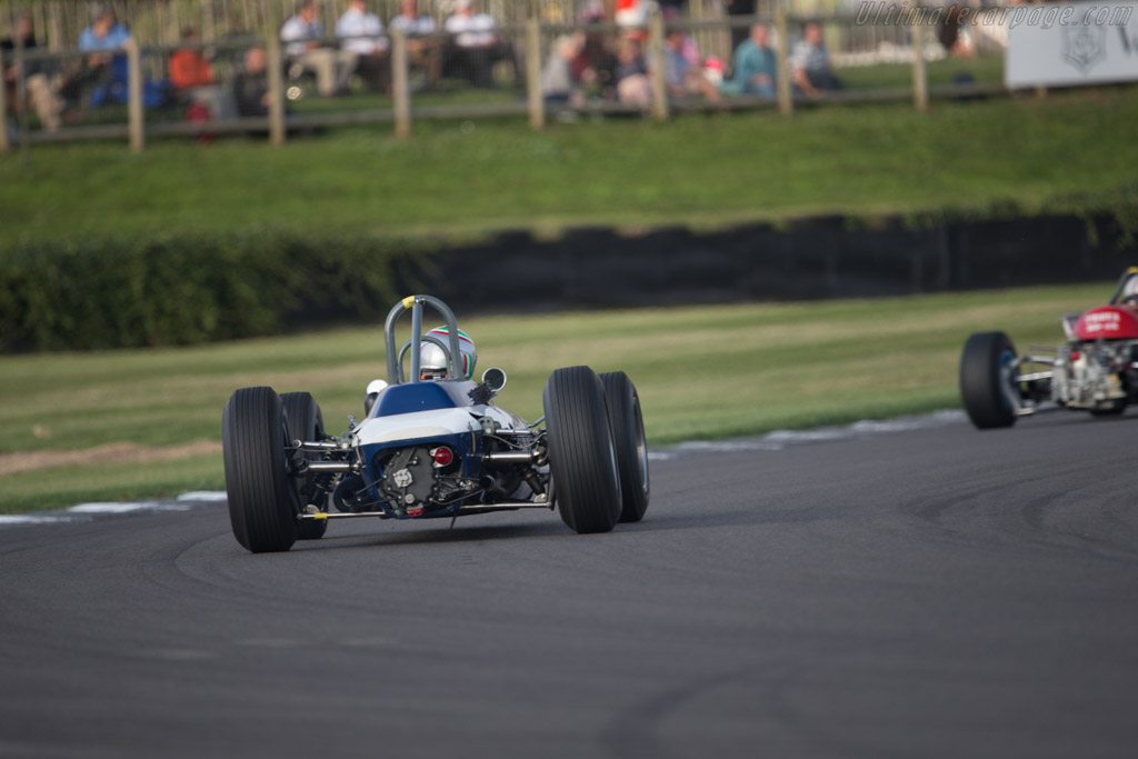 Scirocco BRM - Chassis: SP-1-63 - Driver: Tommaso Gelmini  - 2014 Goodwood Revival