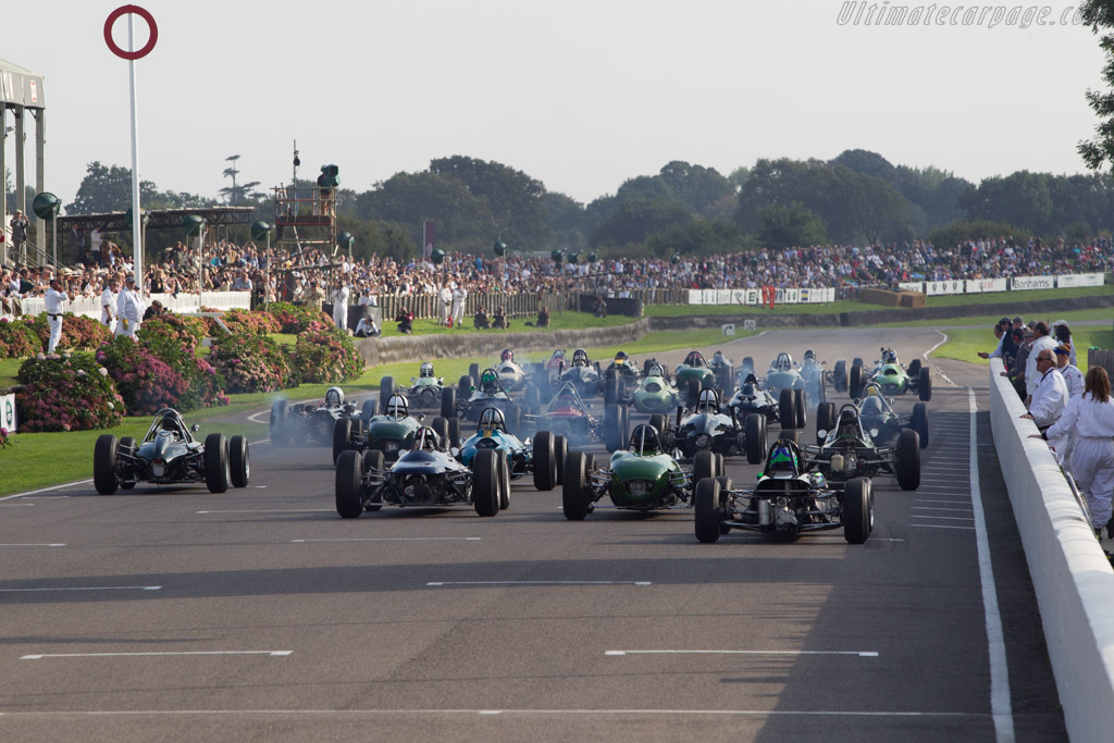 The Start    - 2014 Goodwood Revival