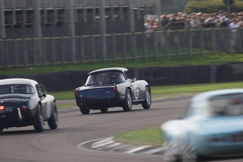 Triumph TR4  - Driver: Allan Ross-Jones  - 2014 Goodwood Revival