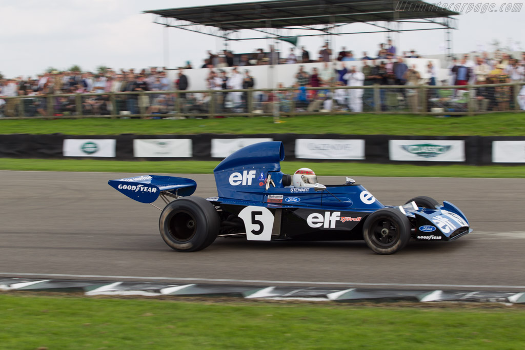 Tyrrell 006 Cosworth - Chassis: 006/2 - Driver: Jackie Stewart  - 2014 Goodwood Revival