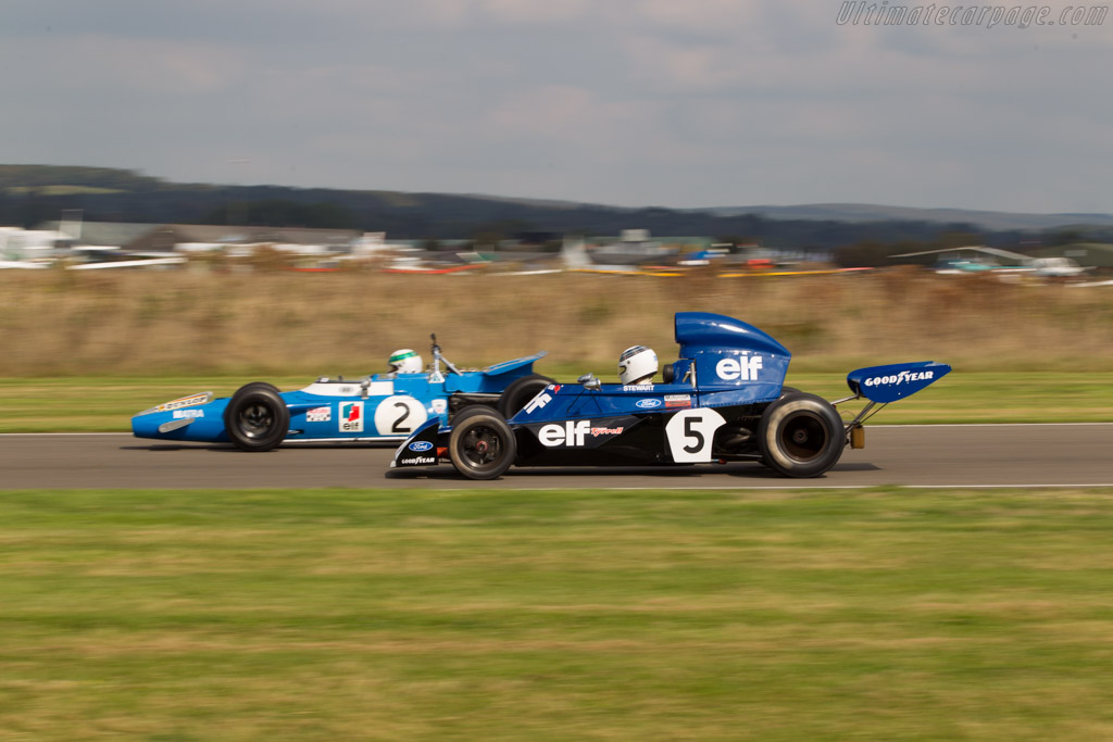 Tyrrell 006 Cosworth - Chassis: 006/2 - Driver: Mark Stewart  - 2014 Goodwood Revival