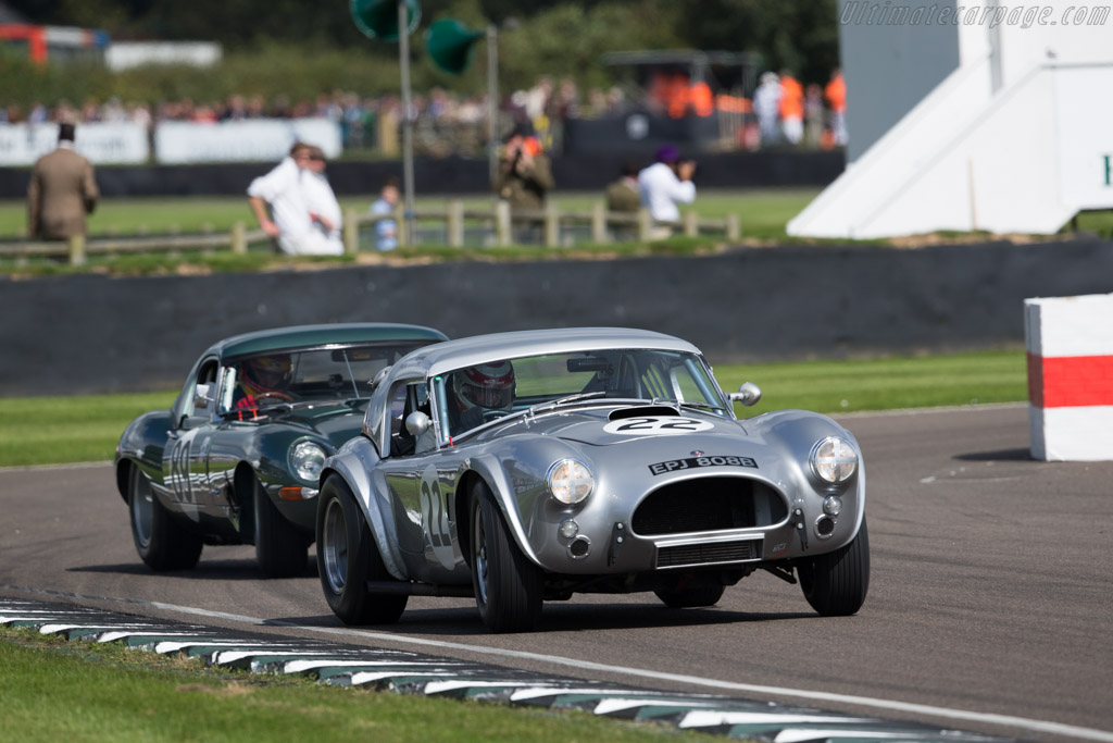 AC Shelby Cobra 289 - Chassis: COB6041 - Entrant: Richard Squire - Driver: Michael Squire / Frank Stippler  - 2015 Goodwood Revival