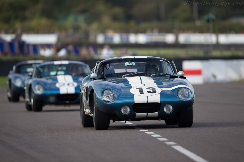 AC Shelby Cobra Daytona - Chassis: CSX2299 - Entrant: Gail Miller  - 2015 Goodwood Revival