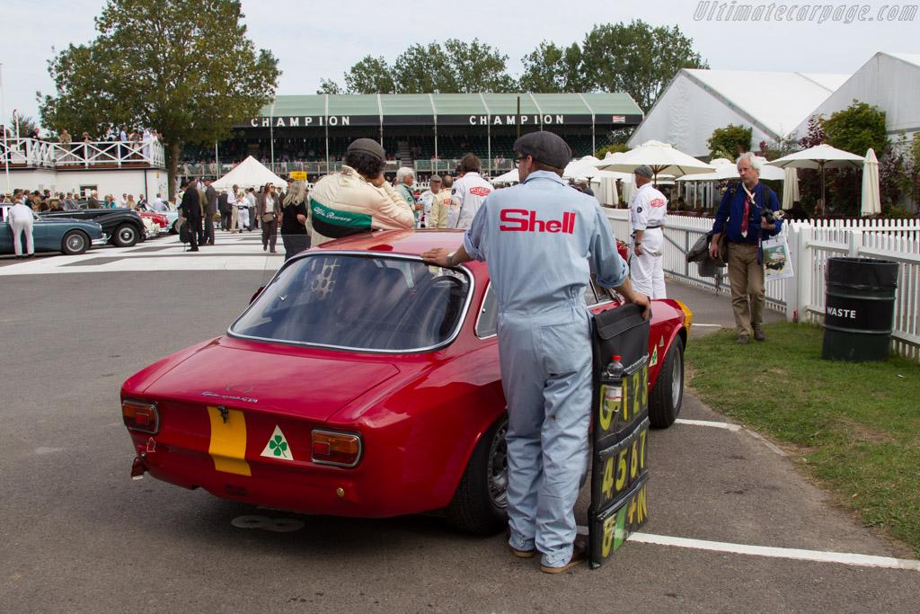 Alfa Romeo 1600 GTA Corsa - Chassis: AR613056 - Entrant: David Fitzsimons - Driver: Alex Furiani  - 2015 Goodwood Revival