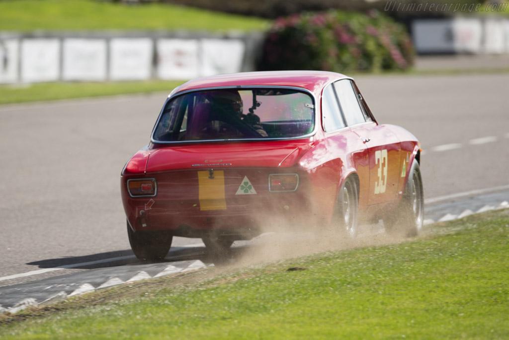 Alfa Romeo 1600 GTA Corsa - Chassis: AR613056 - Entrant: David Fitzsimons - Driver: Frank Stippler  - 2015 Goodwood Revival