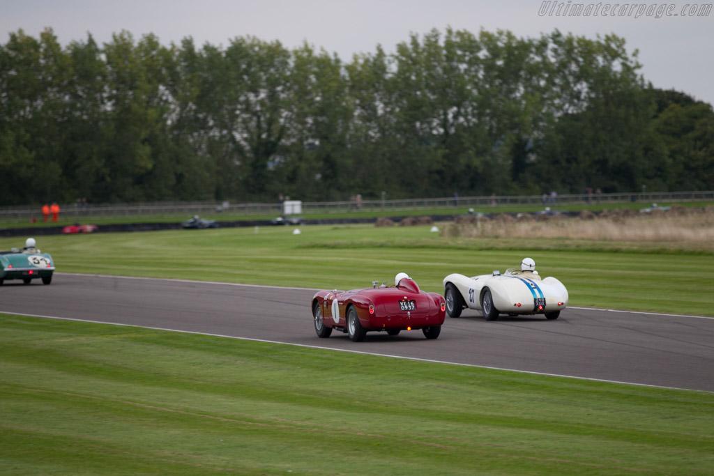 Alfa Romeo 3000 Disco Volante - Chassis: 1311000552 - Entrant: Christopher Mann - Driver: Christopher Mann / Neil Twyman  - 2015 Goodwood Revival