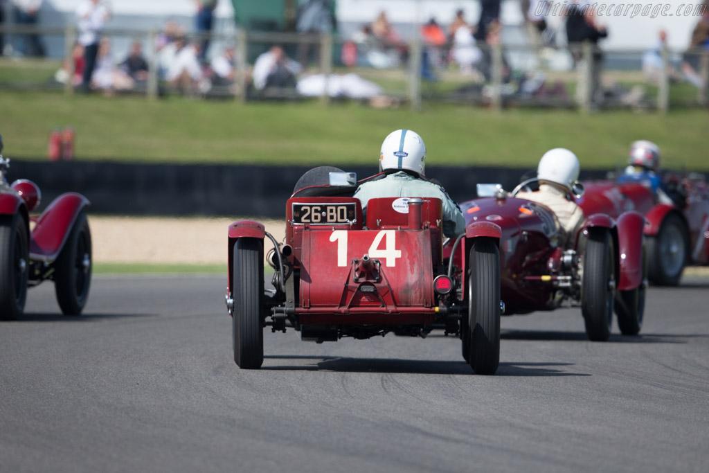 Alfa Romeo 8C 2600 'Muletto'  - Driver: Neil Twyman  - 2015 Goodwood Revival