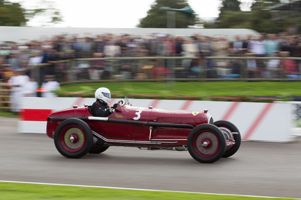 Alfa Romeo Tipo B - Chassis: 5007 - Driver: Tony Smith  - 2015 Goodwood Revival
