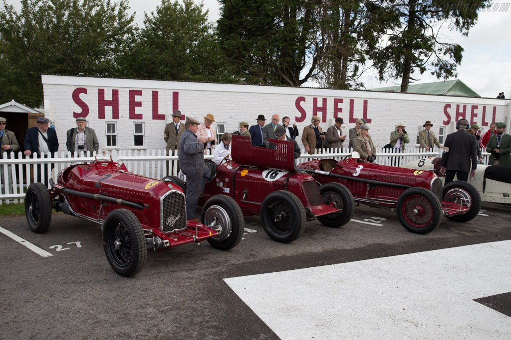 Alfa Romeo Tipo B - Chassis: 50009 - Driver: Christopher Mann  - 2015 Goodwood Revival