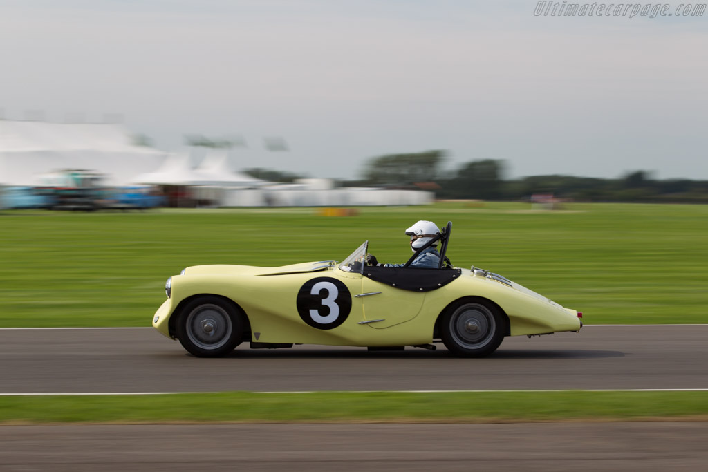 Arnott Lea Francis  - Entrant: G.J. Fitchett - Driver: Arthur Smith-Fitchett  - 2015 Goodwood Revival