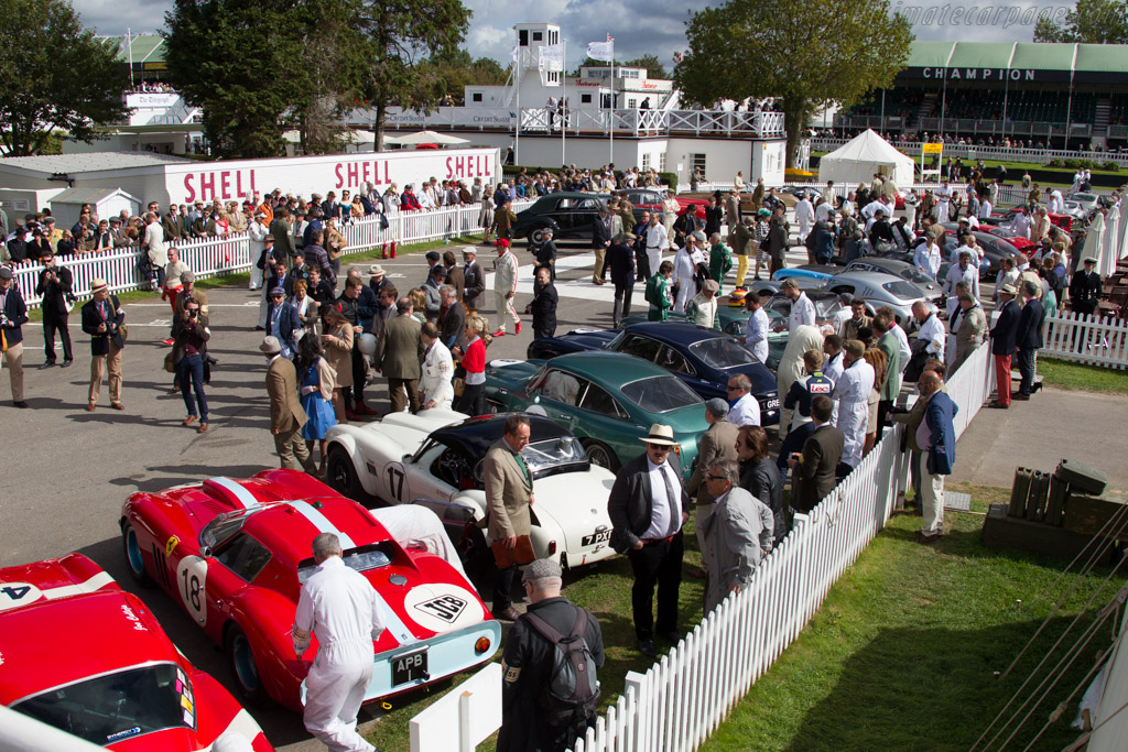 Assembly area    - 2015 Goodwood Revival