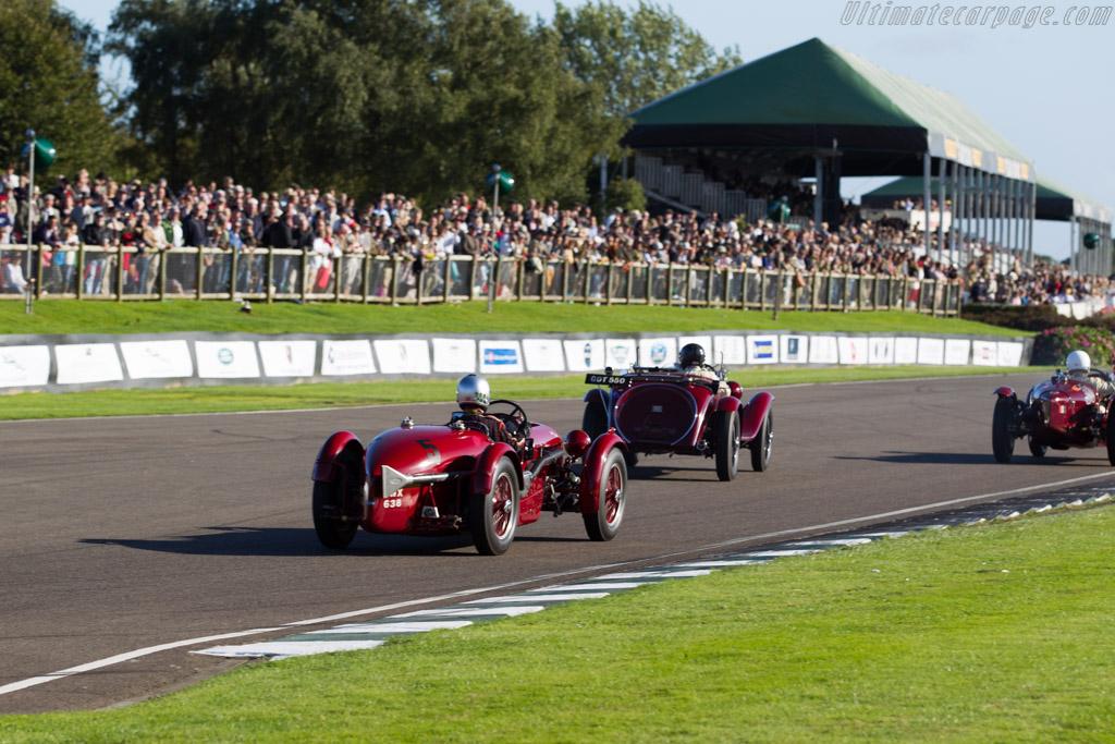 Aston Martin Brooklands  - Entrant: Richard Skipworth - Driver: Mark Gillies  - 2015 Goodwood Revival