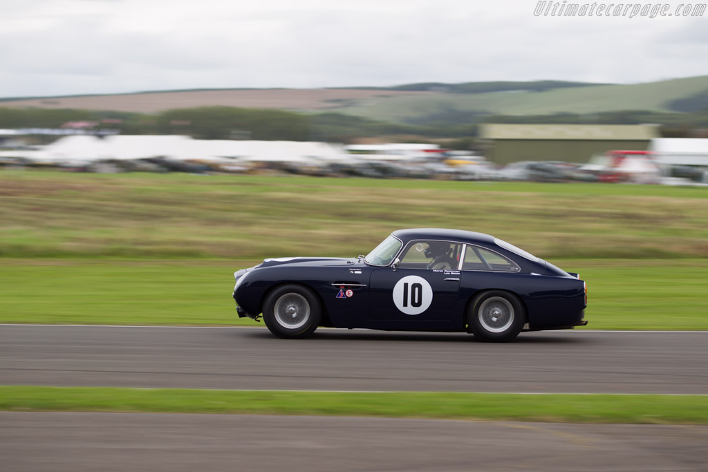 Aston Martin DB4 GT - Chassis: DB4GT/0160/R - Entrant: Aston Martin - Driver: Les Goble / Marek Reihman  - 2015 Goodwood Revival