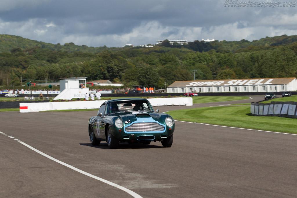 Aston Martin DB4 GT - Chassis: DB4GT/0110/R - Entrant: Ian Dalglish - Driver: Ian Dalglish / James Littlejohn  - 2015 Goodwood Revival