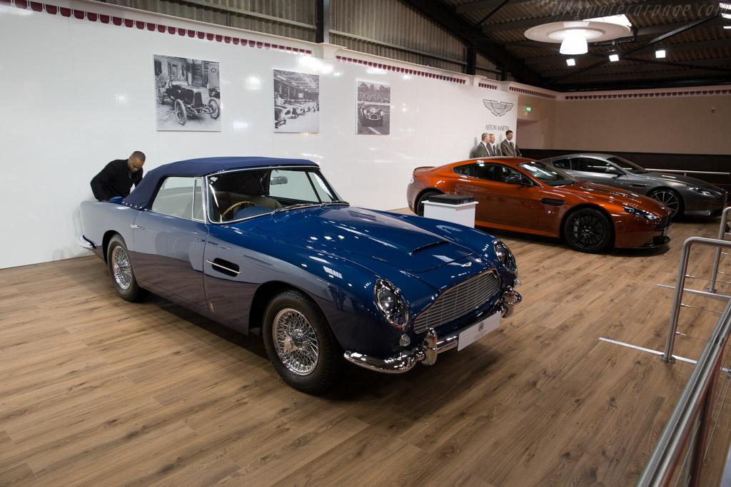 Aston Martin DB5 Convertible    - 2015 Goodwood Revival