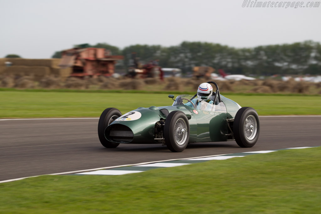 Aston Martin DBR4 - Chassis: DBR4/1 - Entrant: Wolfgang Friedrichs - Driver: Simon Hadfield - 2015 Goodwood Revival