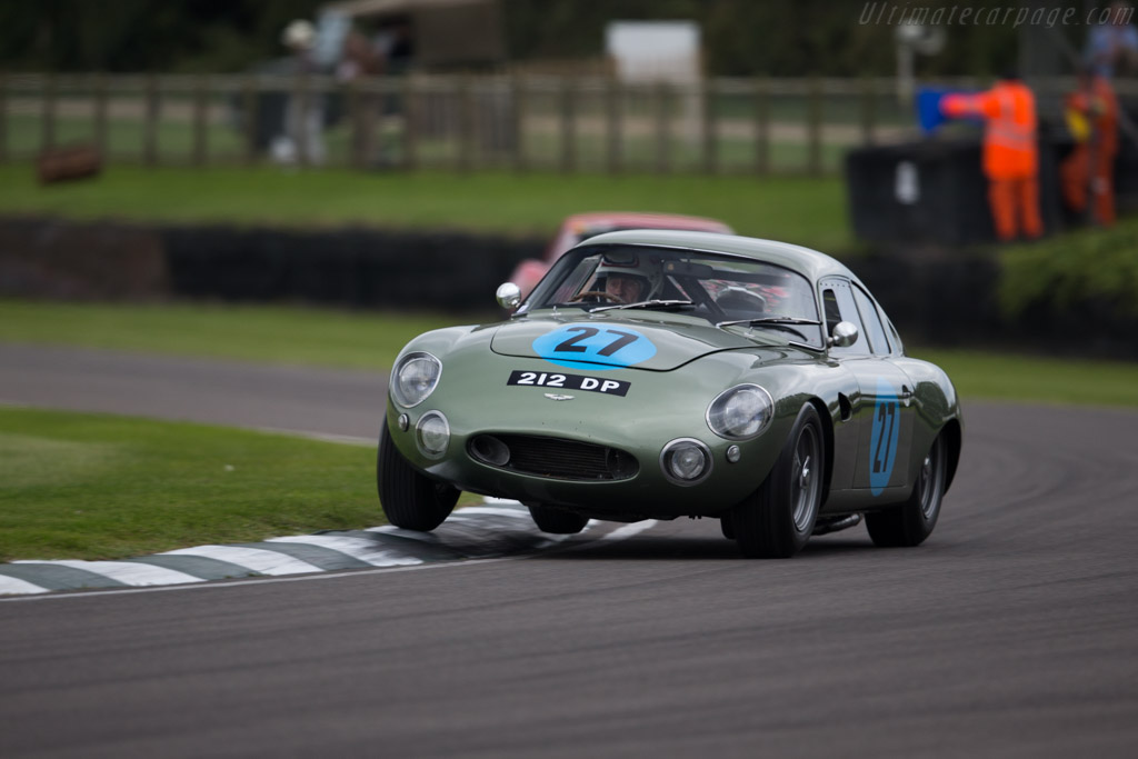 Aston Martin DP212 - Chassis: DP212/1 - Entrant: Wolfgang Friedrichs - Driver: Wolfgang Friedrichs / Simon Hadfield  - 2015 Goodwood Revival