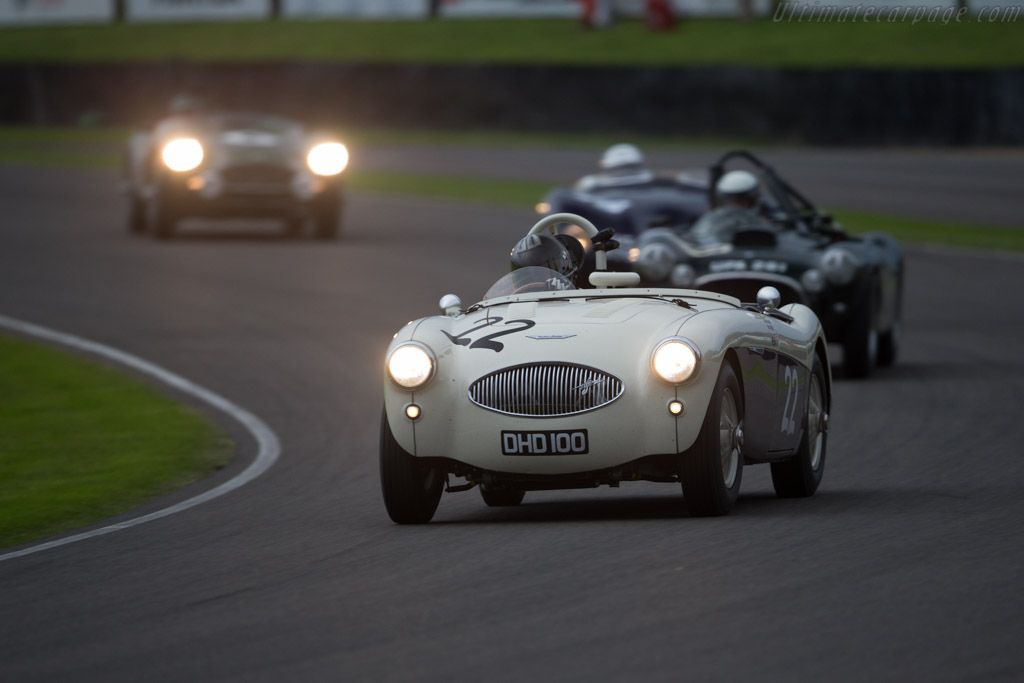 Austin Healey 100S - Chassis: AHS 3603 - Entrant: Karsten le Blanc - Driver: Karsten le Blanc / Nigel Greensall  - 2015 Goodwood Revival
