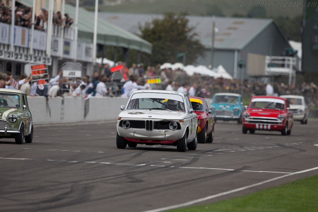 BMW 1800 TISA - Chassis: 995193 - Driver: Richard Shaw  - 2015 Goodwood Revival