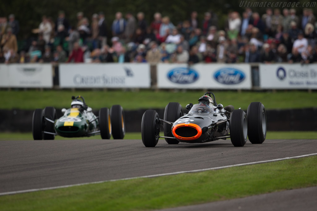 BRM P261 - Chassis: 2615 - Entrant: Andrew Wareing - Driver: Jackie Stewart  - 2015 Goodwood Revival