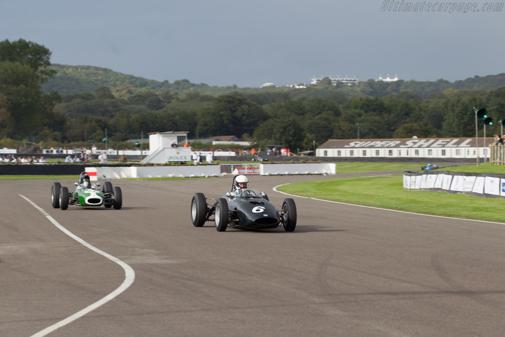 BRM P57 - Chassis: 573 - Driver: David Clark  - 2015 Goodwood Revival