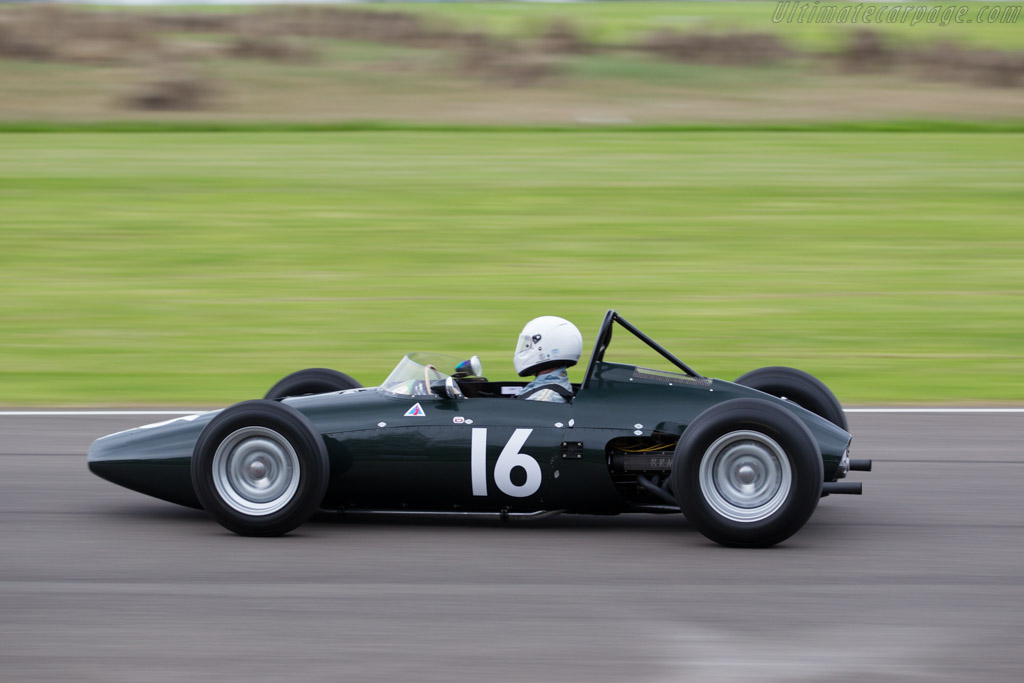 Race Car Trophy >> BRM P57 - Chassis: 572 - Driver: Charles McCabe - 2015 Goodwood Revival