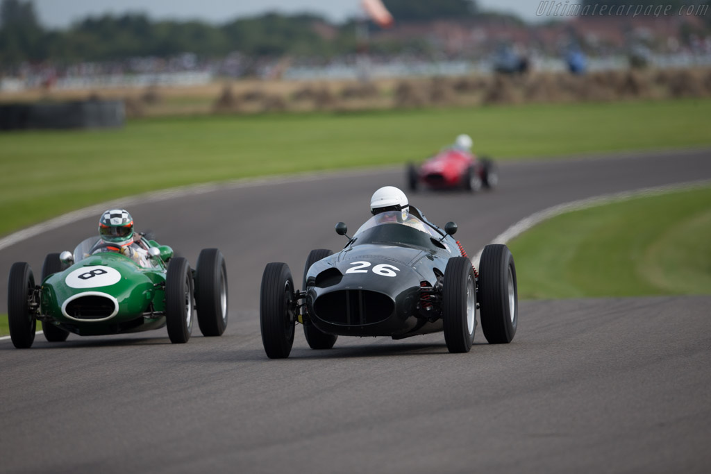 BRM Type 25 - Chassis: 258 - Driver: Gary Pearson  - 2015 Goodwood Revival