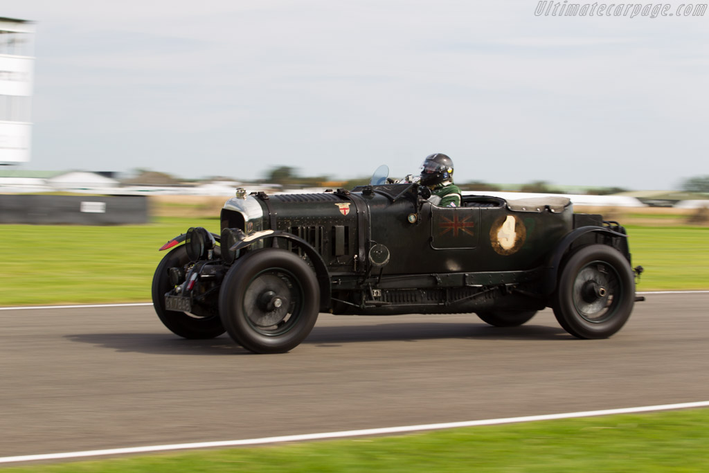 Bentley 4.5 Litre Blower - Chassis: MS3950 - Driver: Robert Fink  - 2015 Goodwood Revival