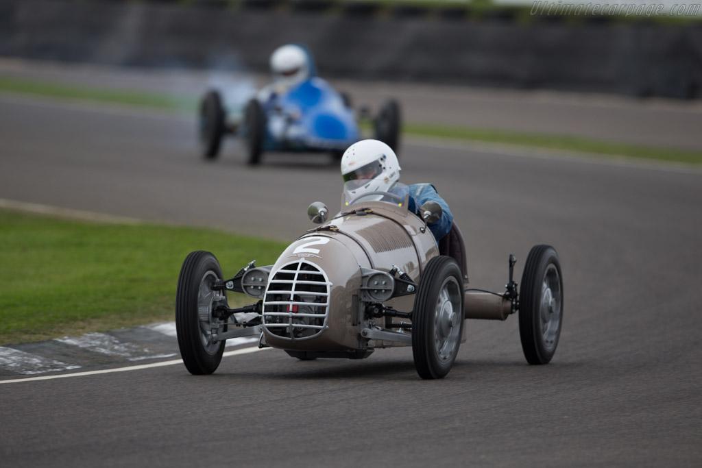 Bond Triumph  - Driver: Duncan Rabagliati  - 2015 Goodwood Revival