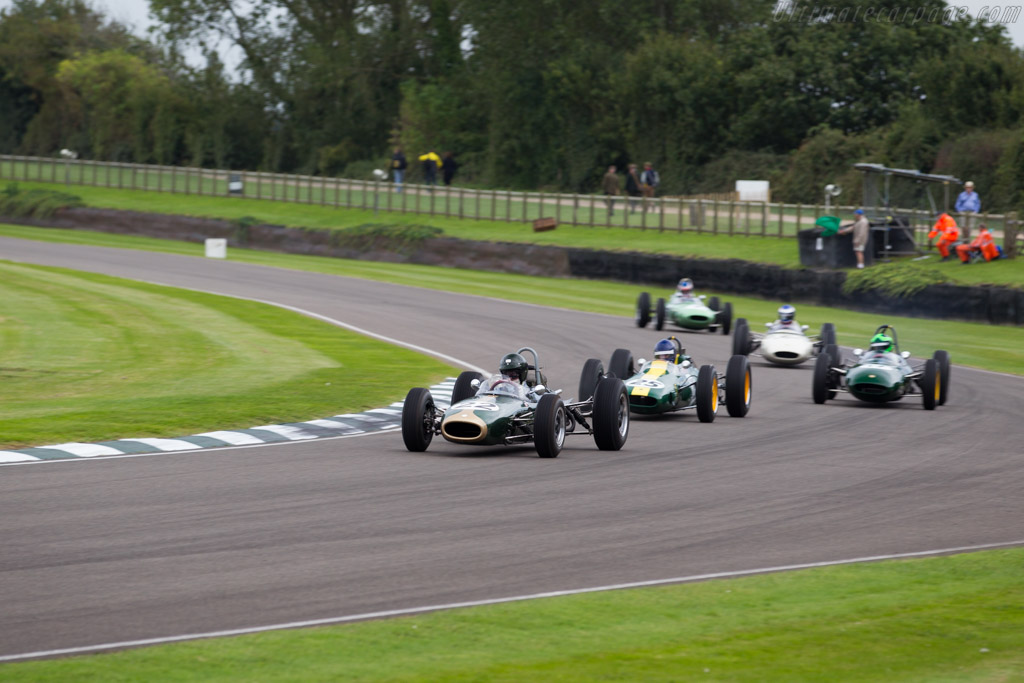 Brabham BT7 Climax - Chassis: F1-1-63 - Entrant: Montana Motorsports - Driver: James King  - 2015 Goodwood Revival
