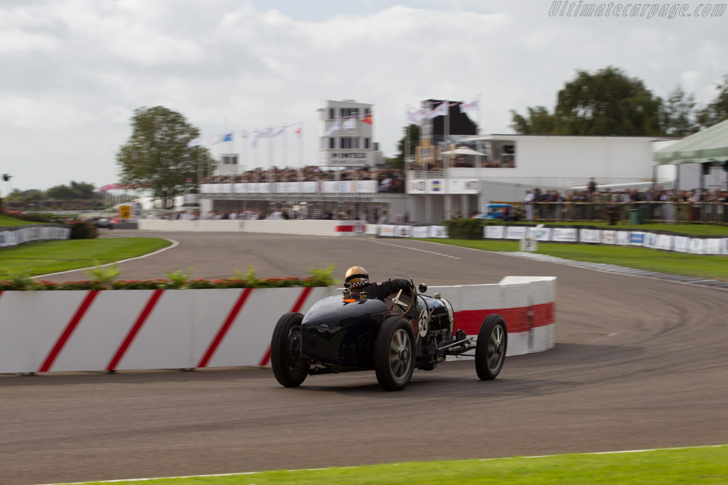 Bugatti Type 51 - Chassis: 51126 - Entrant: Sam Collier - Driver: Simon Diffey  - 2015 Goodwood Revival