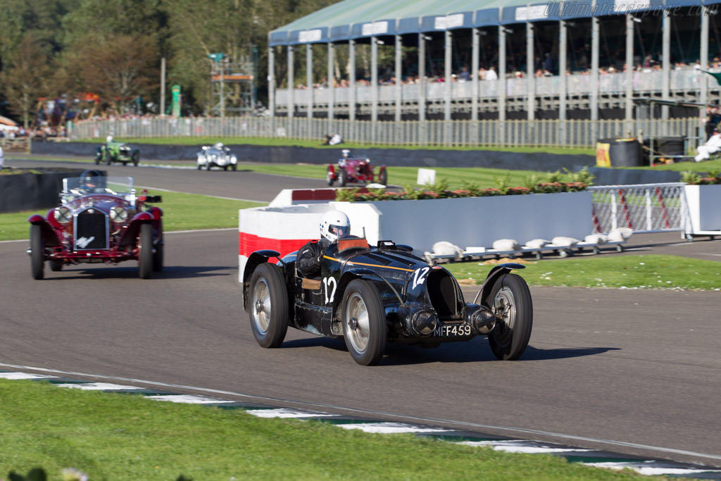Bugatti Type 59 - Chassis: 57248 - Entrant: Hubert Fabri - Driver: Tim Dutton  - 2015 Goodwood Revival