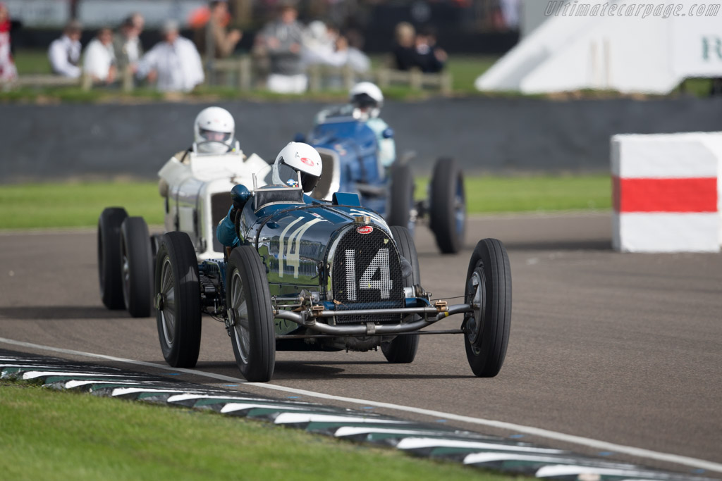 Bugatti Type 59 - Chassis: BC159 - Entrant: Charles McCabe - Driver: Charles Knill-Jones  - 2015 Goodwood Revival