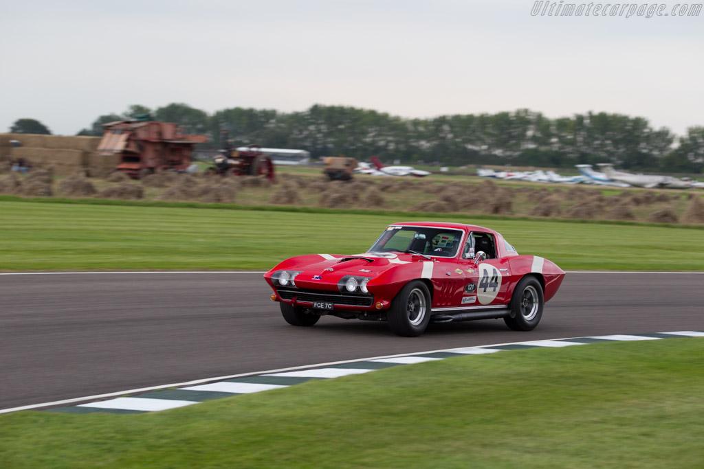 Chevrolet Corvette Sting Ray  - Entrant: Joe Calleja - Driver: Joe Calleja / John Bowe  - 2015 Goodwood Revival