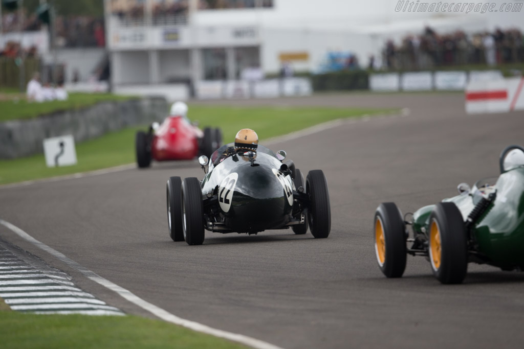 Connaught B-Series  - Entrant: John Morley - Driver: Simon Diffey  - 2015 Goodwood Revival