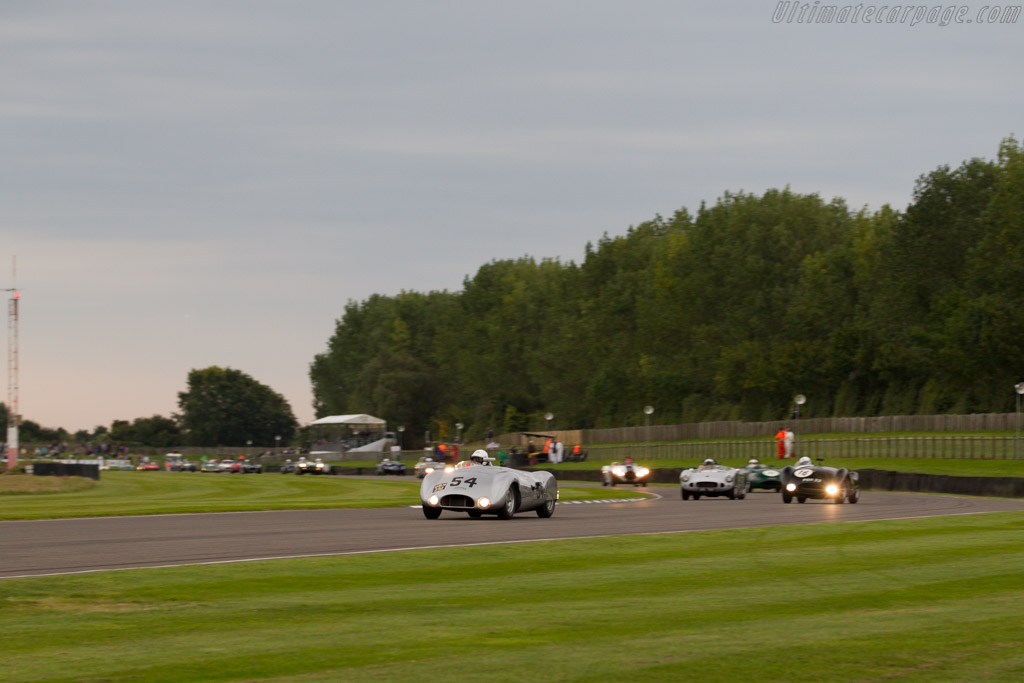 Cooper T33 Jaguar - Chassis: CJ-1-54 - Entrant: Derek Hood - Driver: Derek Hood / Chris Ward  - 2015 Goodwood Revival