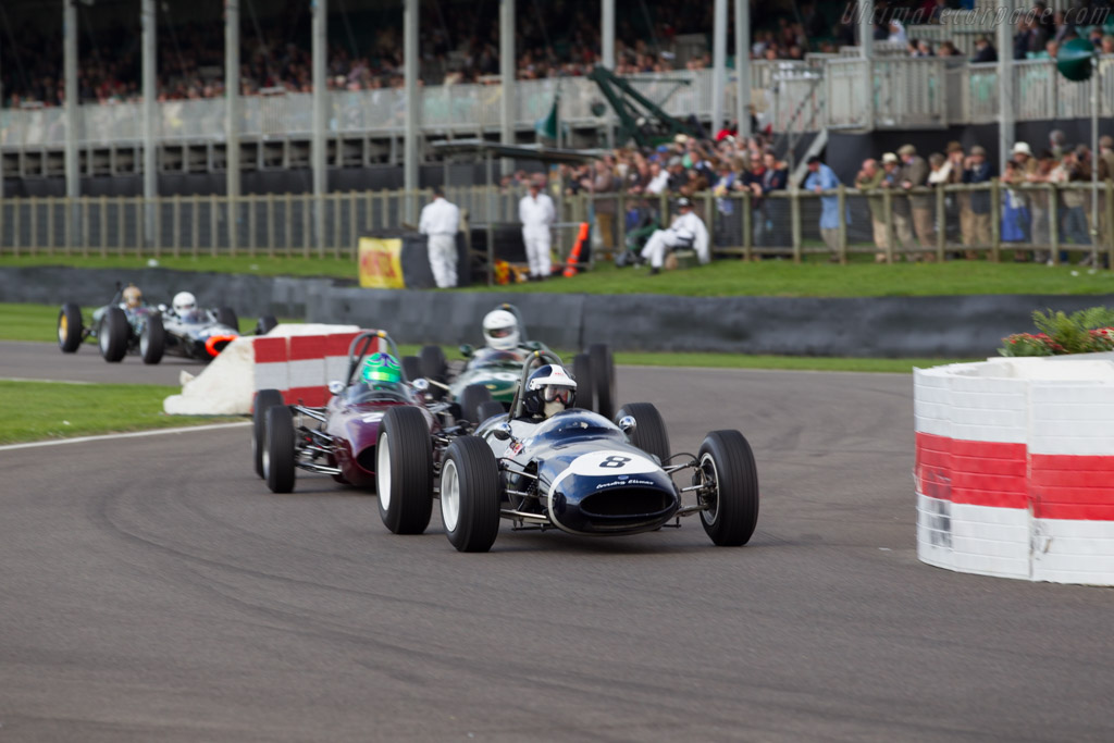 Cooper T66 Climax - Chassis: F1-2-63 - Driver: Sid Hoole  - 2015 Goodwood Revival